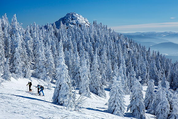 Bavarian Alps in Snow