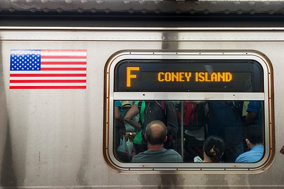 All Aboard for Coney Island Take the F line to New York City's Favourite Beach