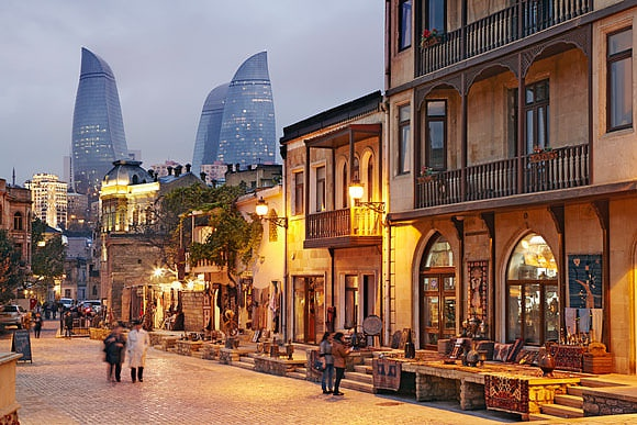 Baku, Azerbaijan by Richard Taylor