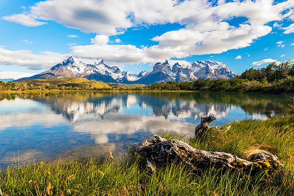 Torres Del Paine - Chile Stock Images