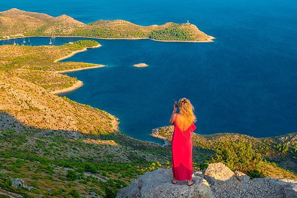 Lastovo Island Croatia Stock Images