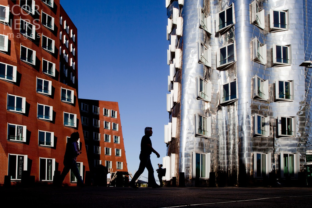modern architecture, Dusseldorf photographed by Gabriele Croppi