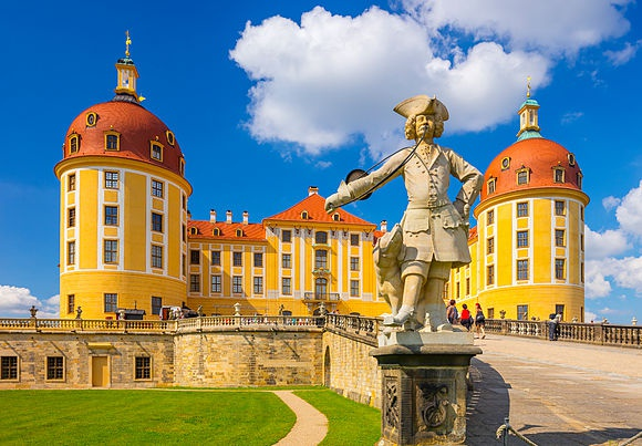 Stock images of German castles and palaces
