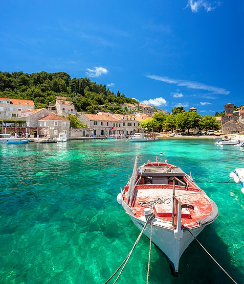 Dubrovnik, pearl of the Adriatic and Elafiti Islands