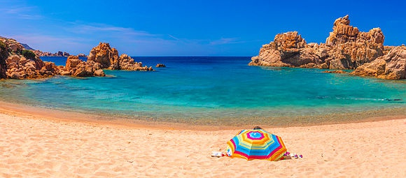 Summer in Sardinia Stock Images