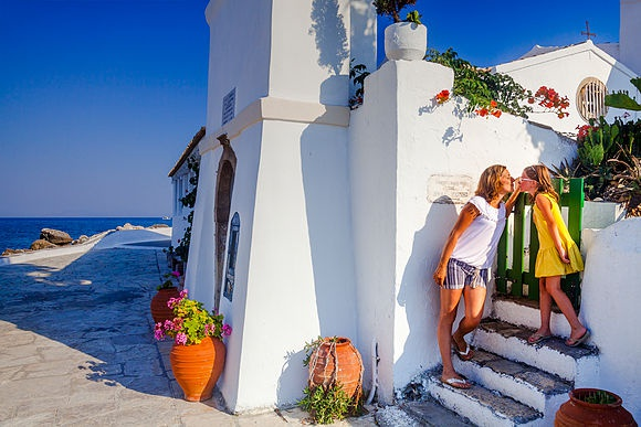 Corfu Greece Stock Images