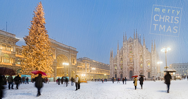 Christmas in Milan by Sandra Raccanello