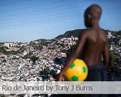 Travel photography by Tony J Burns: Rio de Janeiro