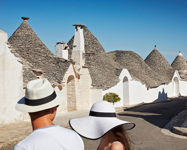 Italian Hats, Alberobello, Apulia by Richard Taylor