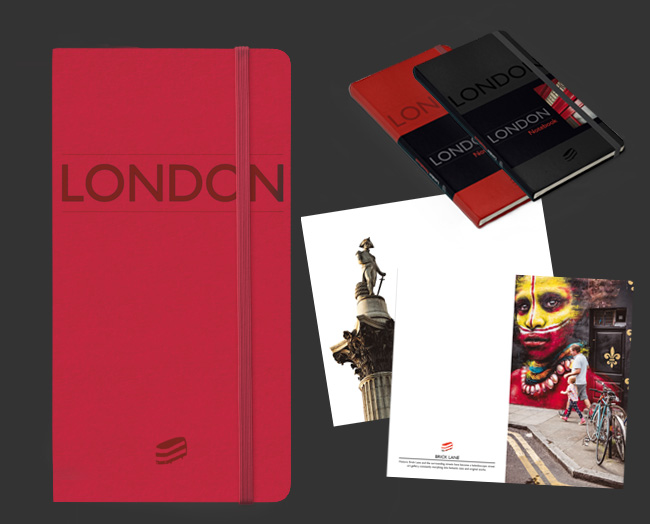 red London notebook by Sime Books
