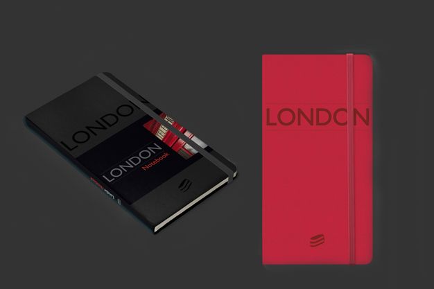 Black and Red London Notebooks by Sime Books infinitely customisable, these notebooks will be admired by everyone!